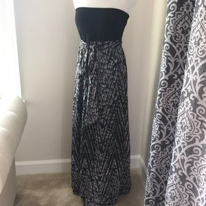 Strapless Maxi Dress from Xhilaration